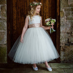 Sue Hill tutu flower girl bridesmaid dress jemima