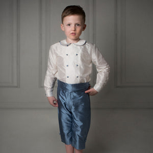 George Silk Page Boy Shorts Outfit