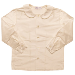 Silk Peter Pan Page Boy Shirt