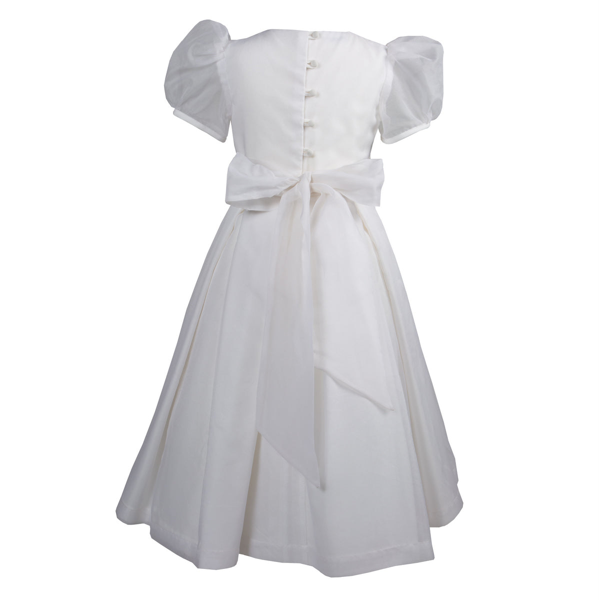 Sue Hill silk organza flower girl communion dress annabel