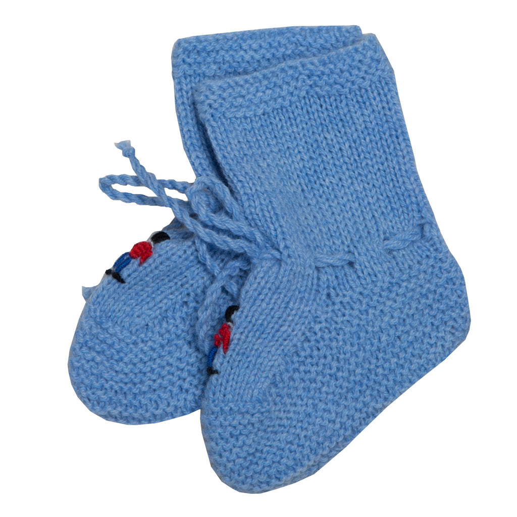 Cashmere Soldiers Booties