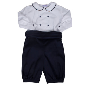 Sue Hill cotton baby boy christening toddler page boy outfit Alexander
