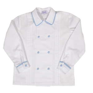 Sue hill cotton pleat front page boy shirt Louis