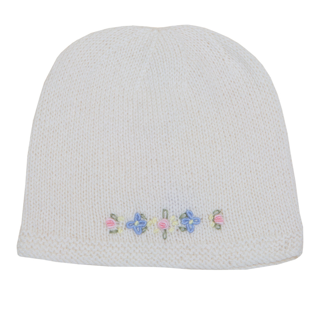 d415c8d4 Sue Hill cashmere baby girl forget me not hat baby gift