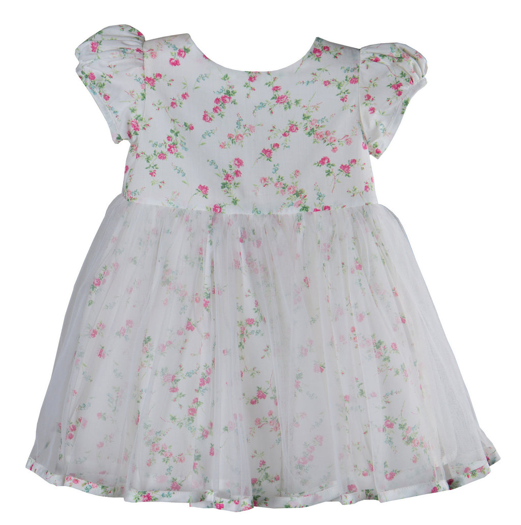 b0609f492aa Sue Hill Liberty print Elizabeth Tulle dress toddler flower girl