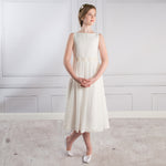 Sue Hill chiffon flower girl dress Florence