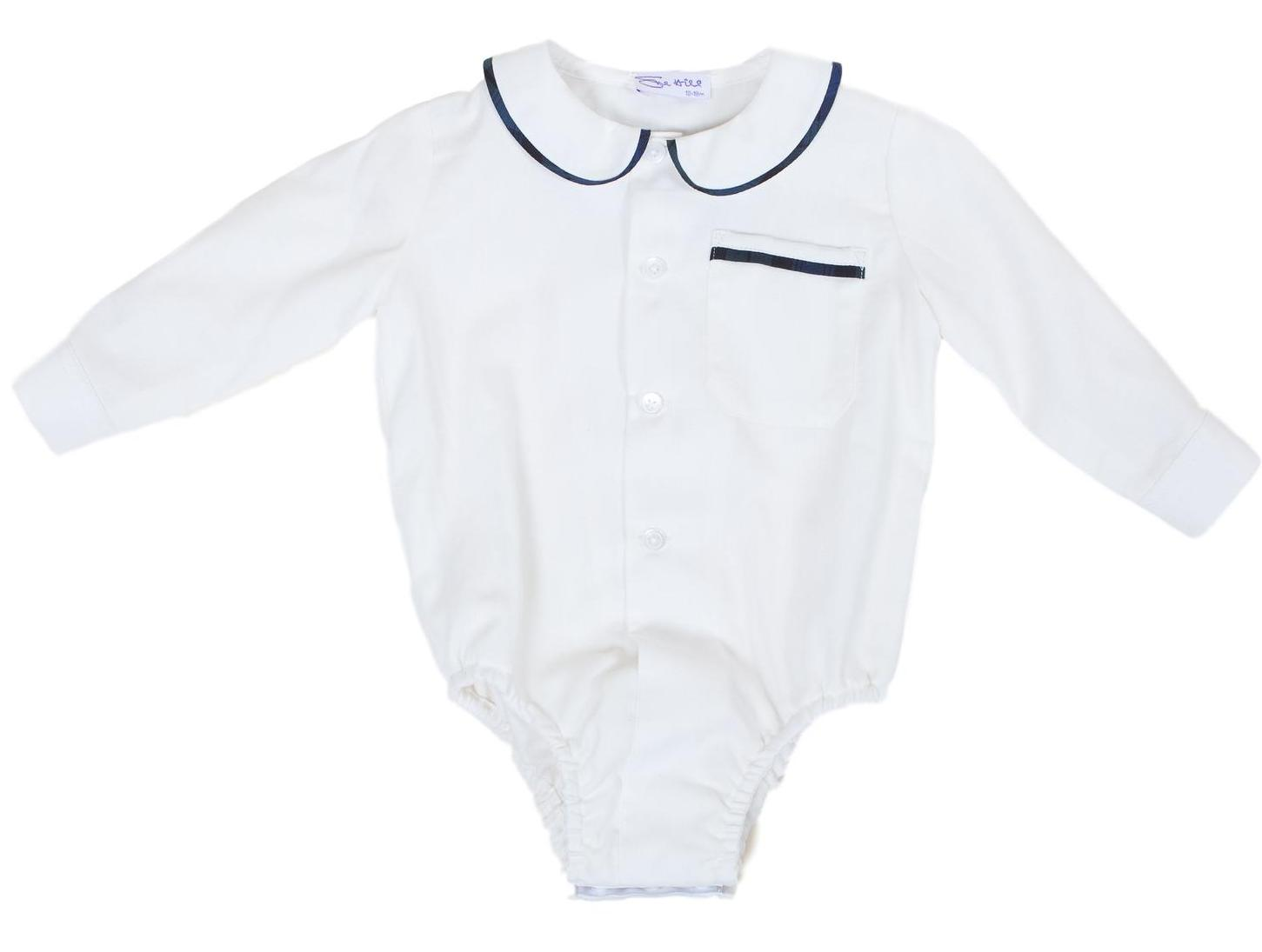 Sue hill baby boy shirt onesie