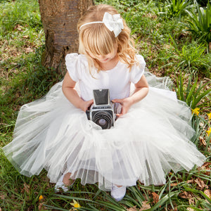 Sue Hill tutu flower girl dress - Lucy