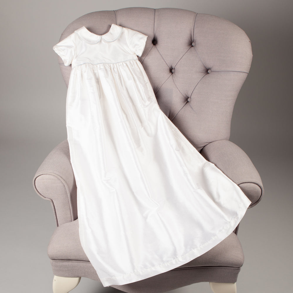 Sue Hill girls boys silk christening gown marlborough