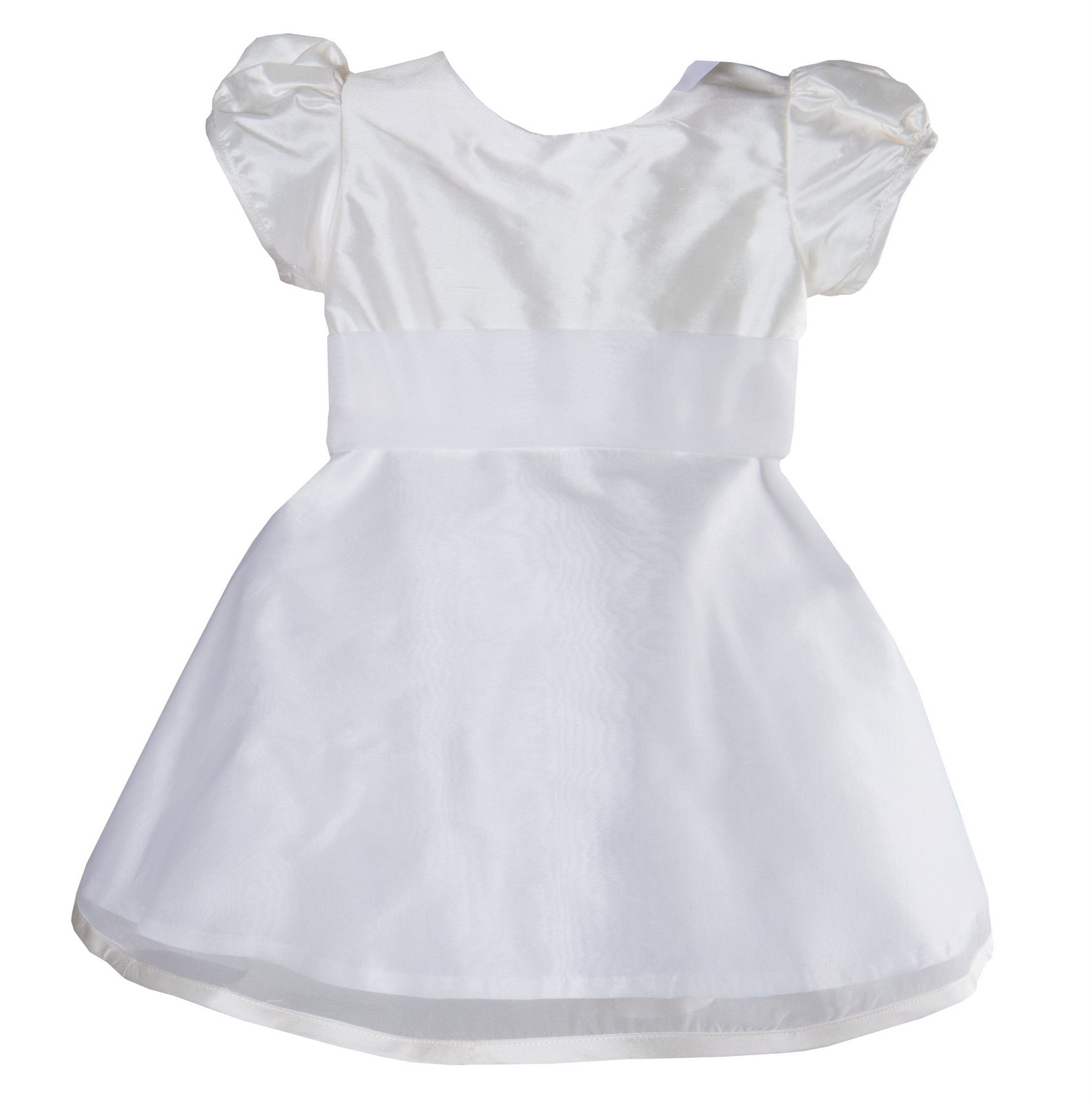 Sue Hill silk matilda toddler flower girl christening dress