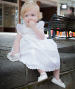 Sue Hill Molly silk organza Christening dress