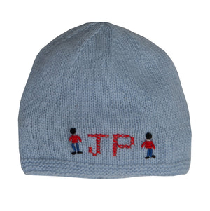 Boy's Personalised Cashmere Beanie Hat