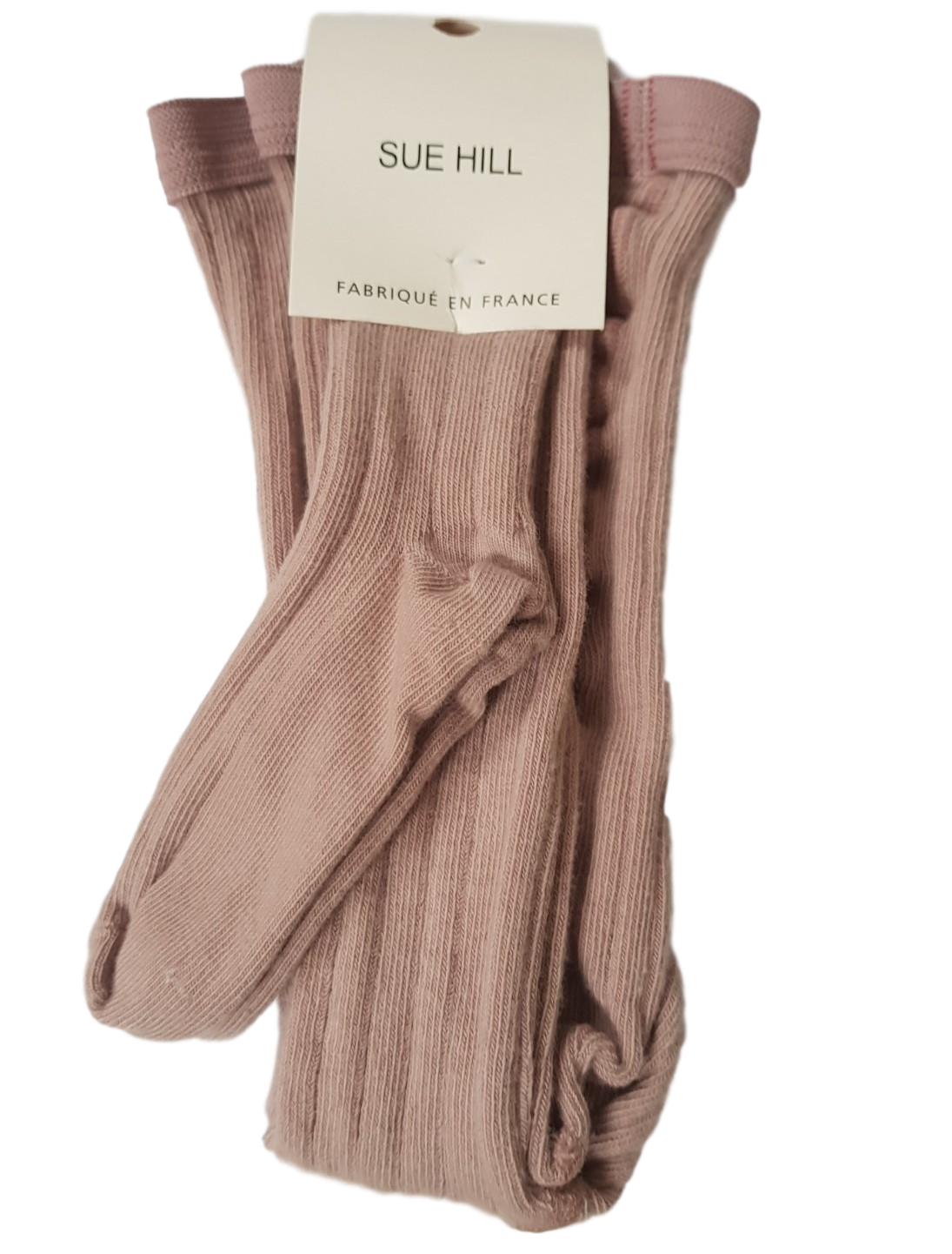 Ribbed Tights Nude Beige -  60% off