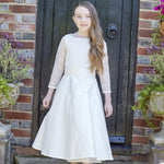 Sue Hill silk lace communion dress victoria