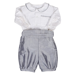 Sue Hill silk baby boy christening toddler page boy outfit Theodore