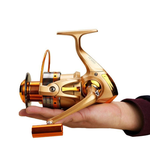 Metal Spinning Fishing Reel