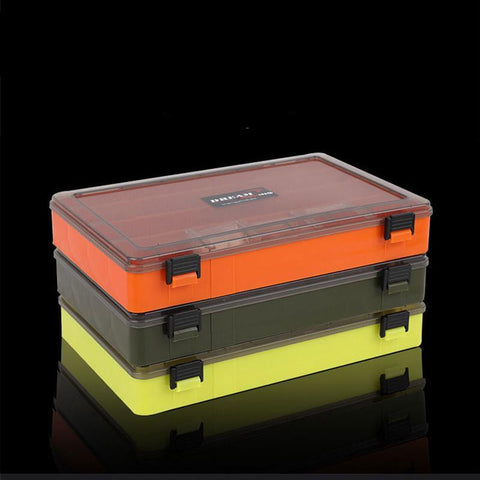 Visible Plastic Fishing Tackle Box