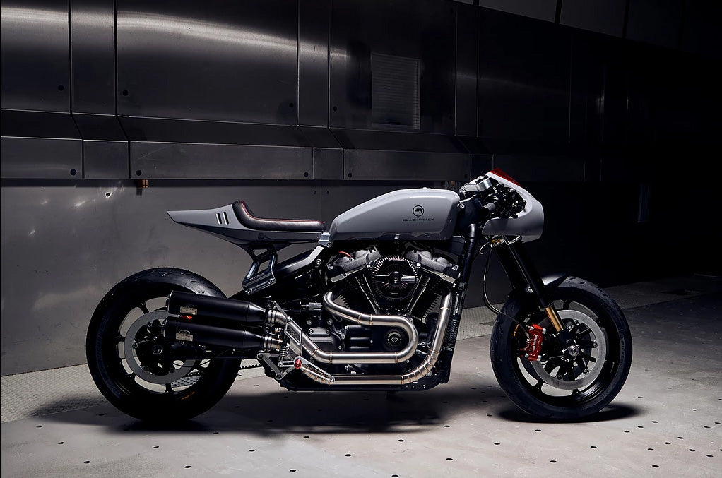 What would be a modern style cafe racer looking like? Here is the answer
