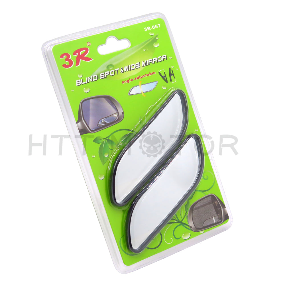 HTTMT- Universal 2 Auto 360?? Wide Angle Convex Rear Side View Blind Spot Mirror for Car