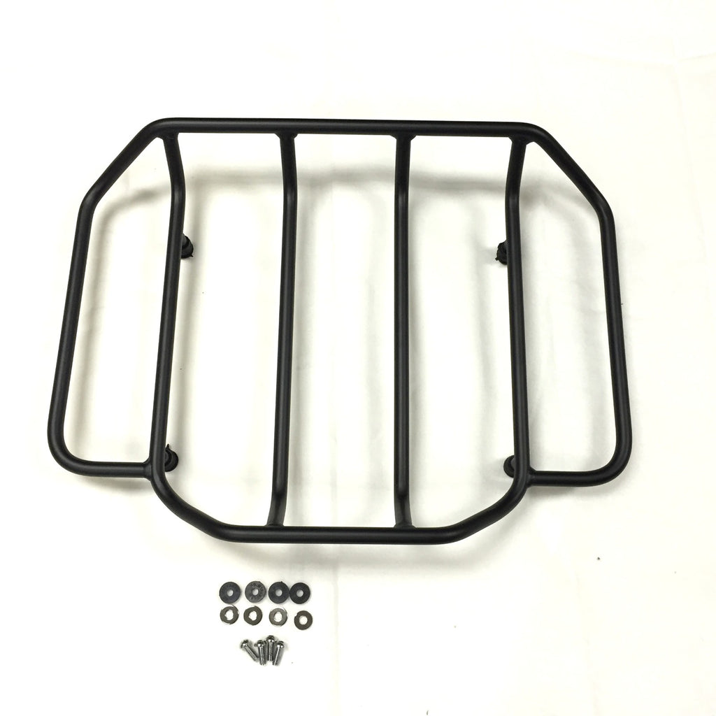 HTT Motorcycle Black Luggage Rack Rail Trunk Luggage Rack Rail For Harley Touring Road King Street Glide Road Glide Electra Glide FLHTC FLHS