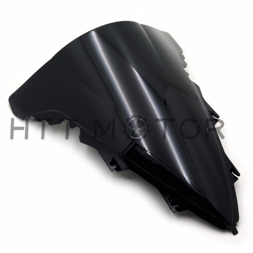 HTTMT- Double Bubble Windshield Windscreen For Yamaha YZF-R1 2009-2014 2010 2011 12 13