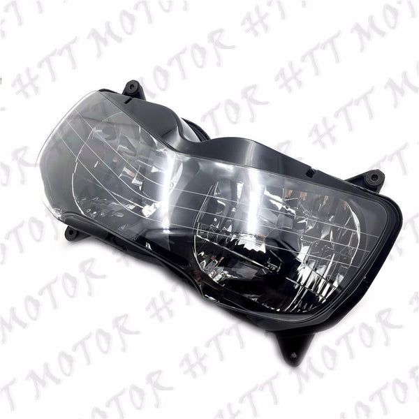 Black Front Headlight Head Lamp Assembly For Honda CBR900RR CBR919RR 1998-1999