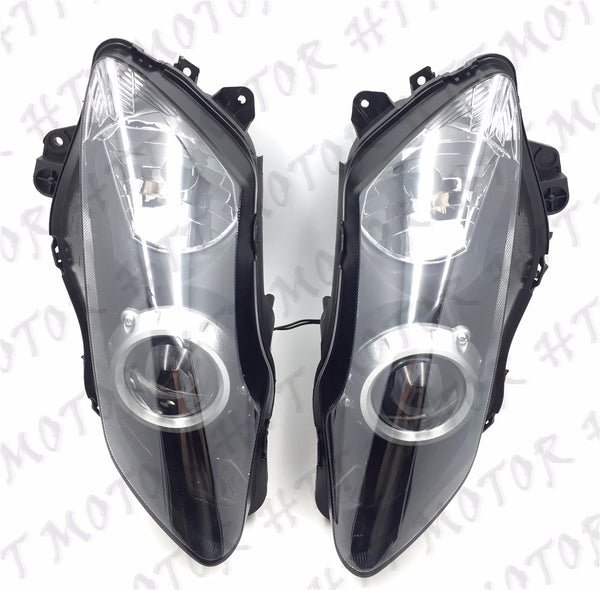 Left Right Headlight Head Lamp Assembly Fit For Yamaha YZF R1 YZF-R1 2007 2008