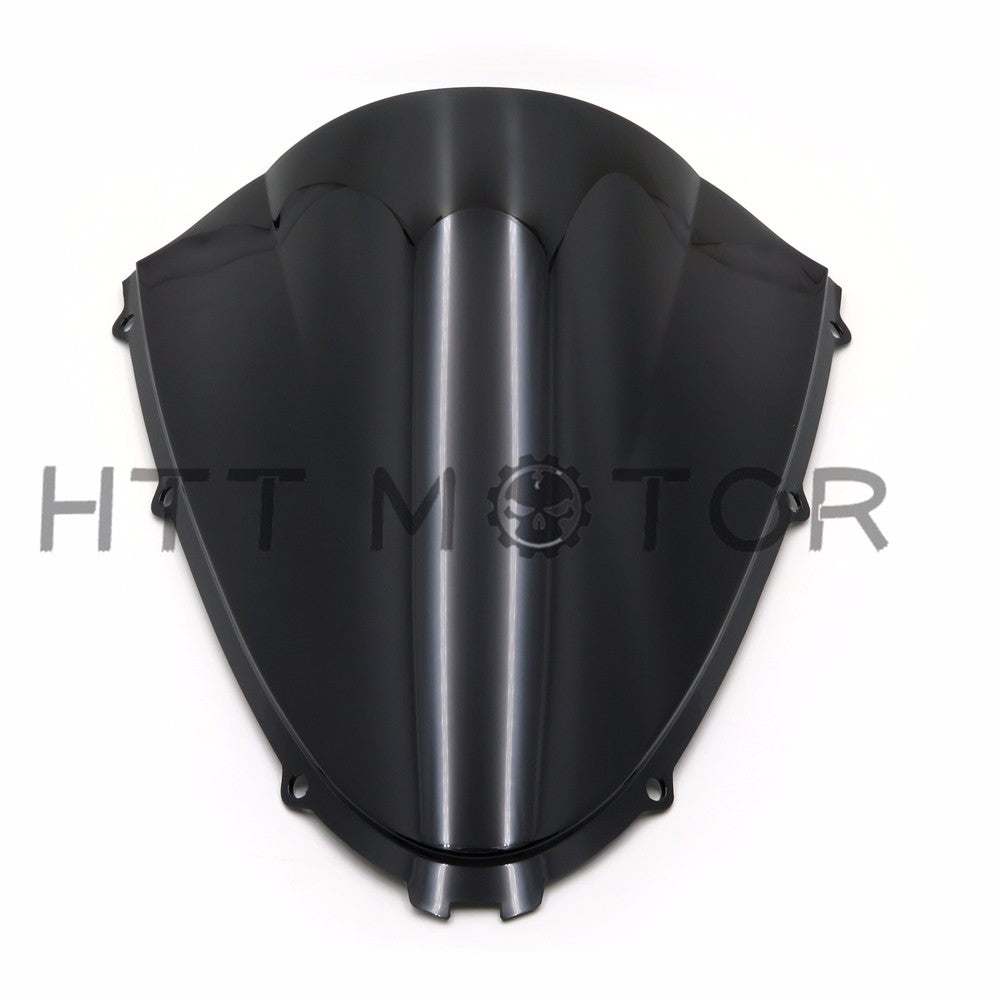 HTTMT- Double Bubble Windscreen Windshield Shield for Kawasaki Ninja ZX14R 2006-2016 15