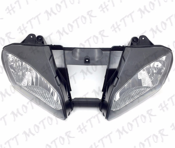 New Front Black Head Light Lamp For 2006-2007 Yamaha YZF-R6 YZFR6 R6 06 07 USA