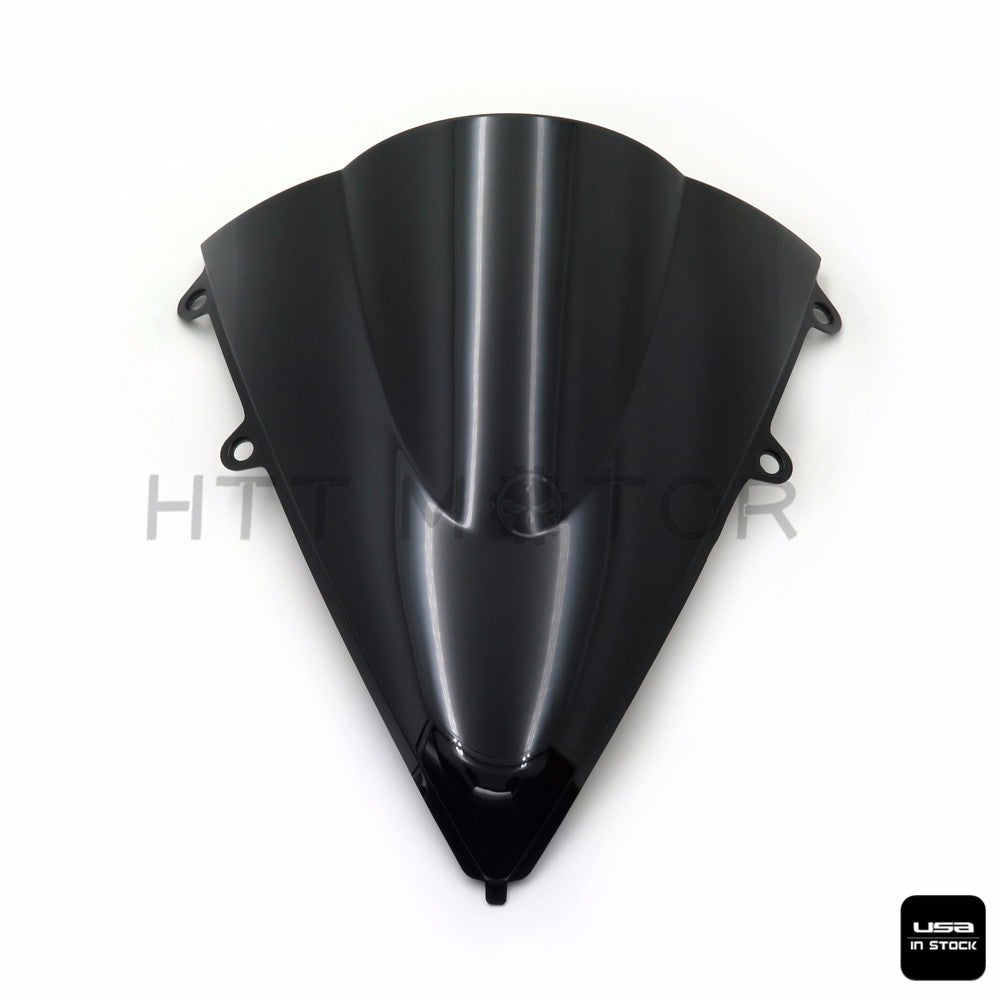 SMOKE BLACK DOUBLE BUBBLE WINDSCREEN WINDSHIELD FOR 2012-2016 HONDA CBR1000RR