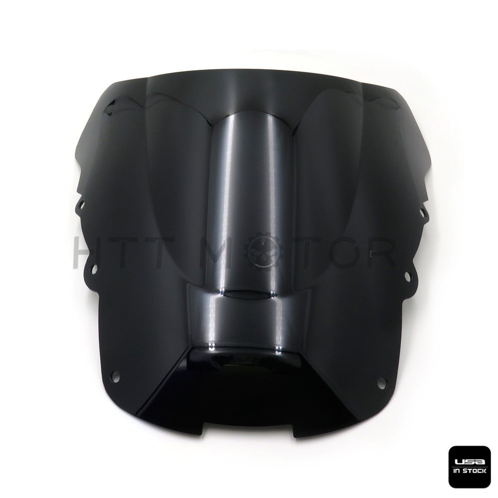 Smoke Black Double Bubble Windscreen for 1996-2007 Honda CBR1100XX Black Bird