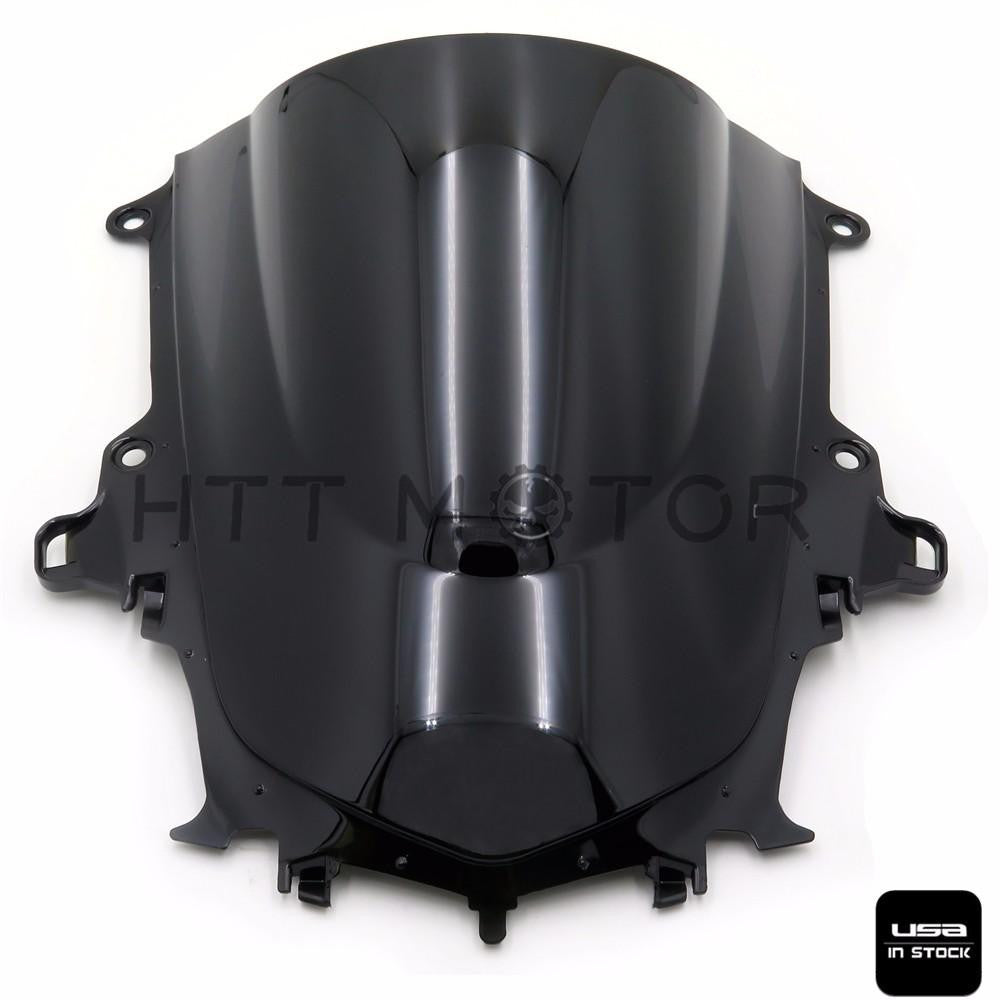 Black Motorcycle Windshield Windscreen For yamaha yzf-r1 2015 15 motorcycle new
