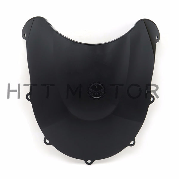 HTTMT- PMMA Double Bubble Windscreen Windshield For SUZUKI GSXR600 GSXR750 GSX-R 96-99