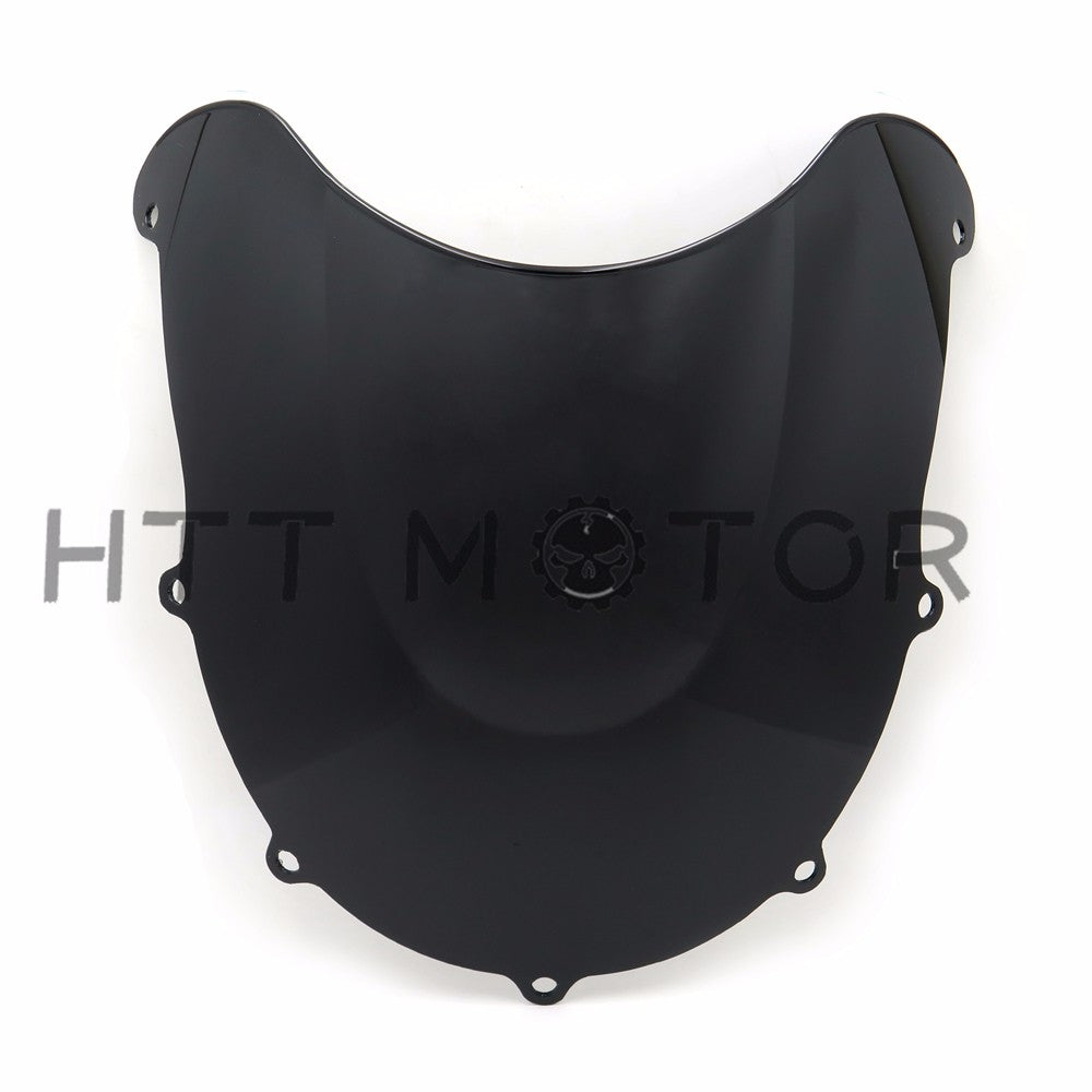 HTTMT- Smoked Black Racing Windscreen Windshield for SUZUKI GSXR600/750 1996-1999