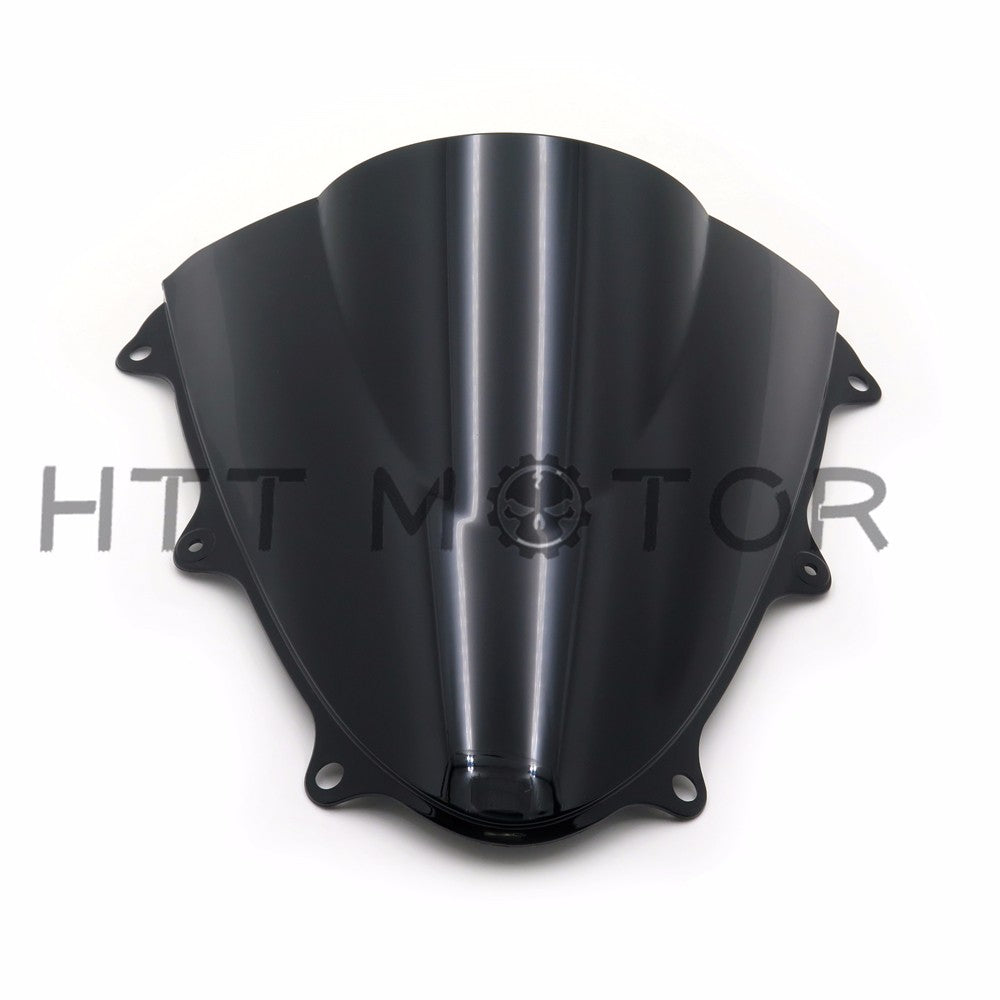 HTTMT- Moto Double Bubble Windscreen Windshield For SUZUKI GSXR600 GSXR750 GSX-R 11-14
