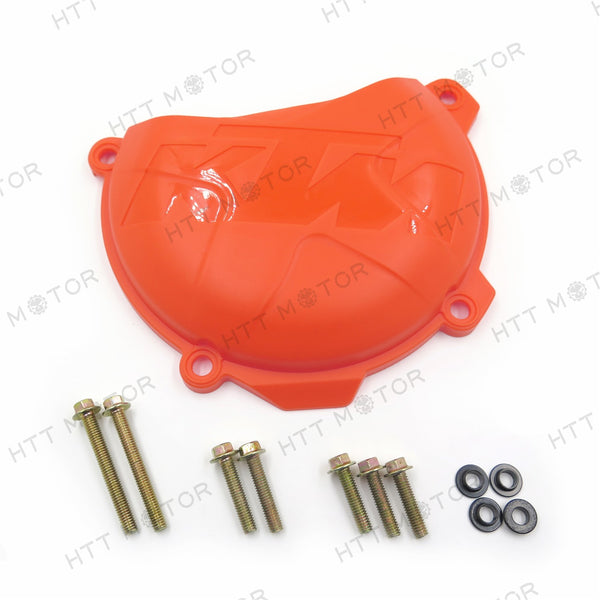 Orange ABS Clutch Cover Protection Guard Saver for KTM 250 EXC-F XCF-W 2014-2016