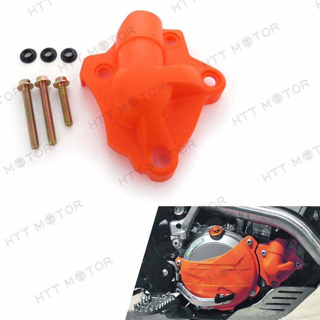 Orange ABS Water Pump Cover Protector for KTM 250 SX-F/XC-F/XCF-W/EXC-F 14-15