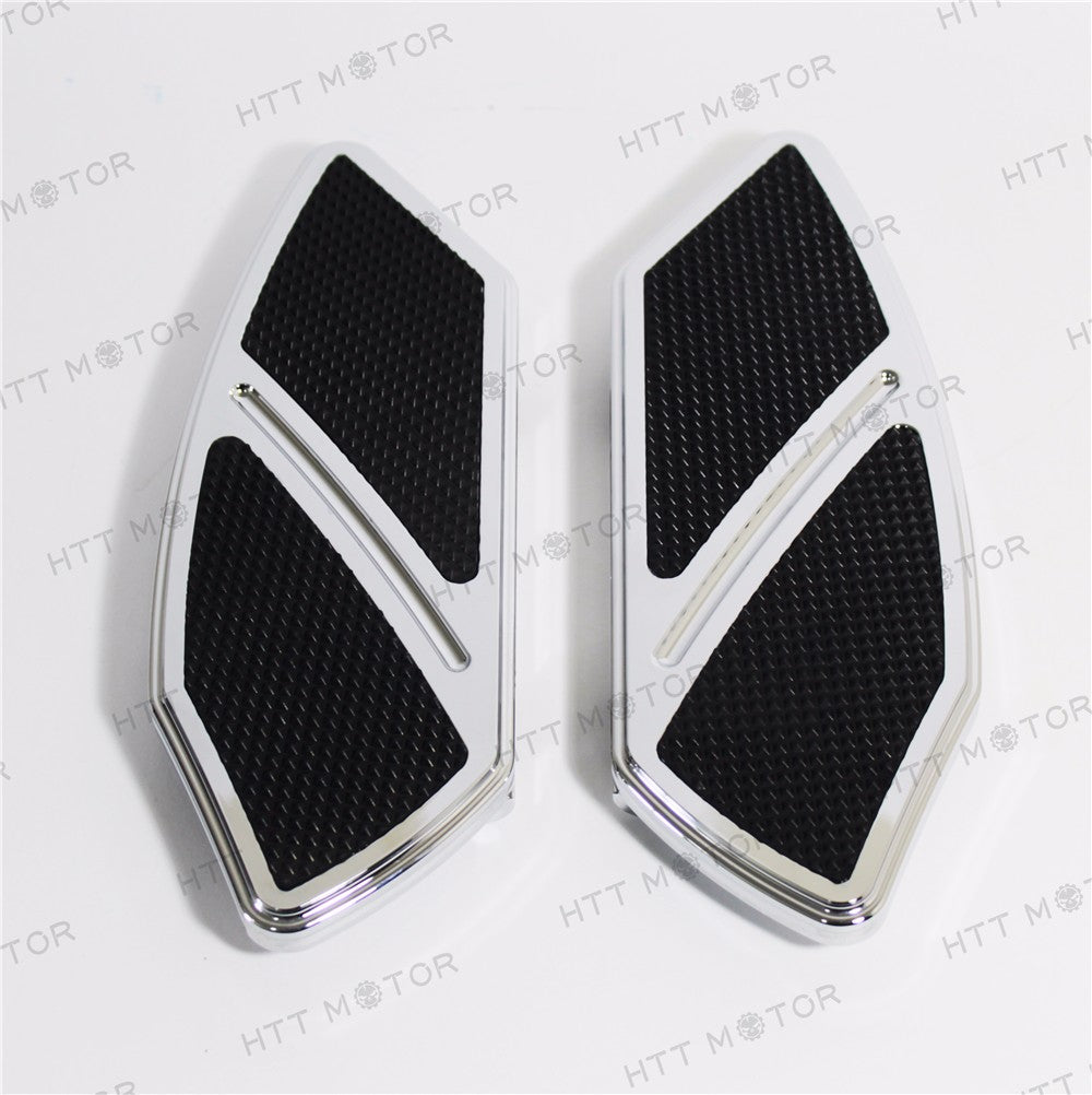 HTTMT- Arc Edge Rear Passenger Foot Board Floorboard For Softail Harley Touring chrome