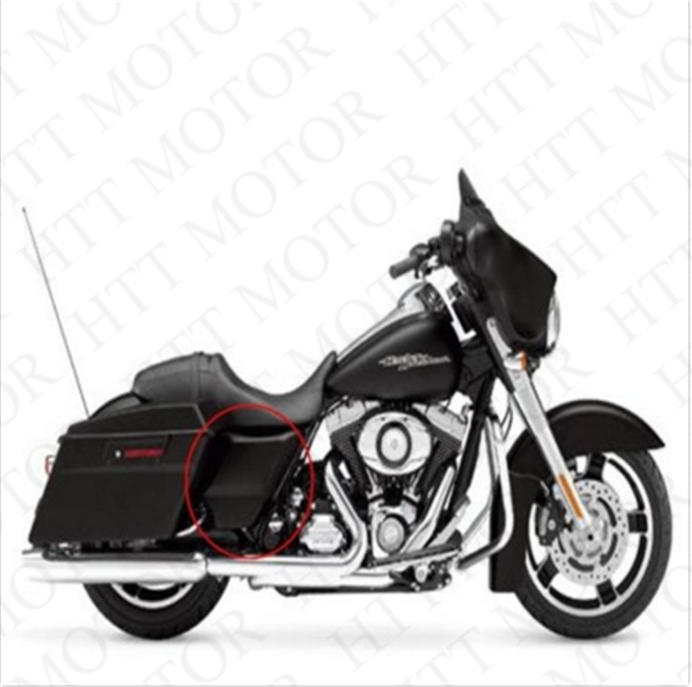 ABS Side Cover Panel For Harley Davidson Touring Street Glide 09-16 Unpainted Black