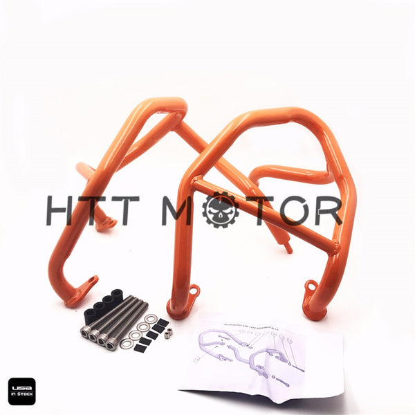 HTTMT- Orange Engine Guard Protector Crash Bars Frame for KTM 1190 Adventure/R 2013-16