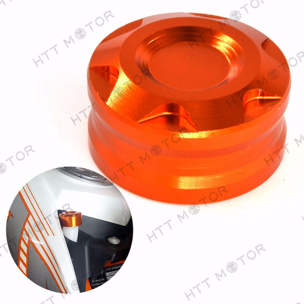 HTTMT- CNC Radiator Water Pipe Cap Cover For KTM Duke 125 200 390 Racing Street Bike