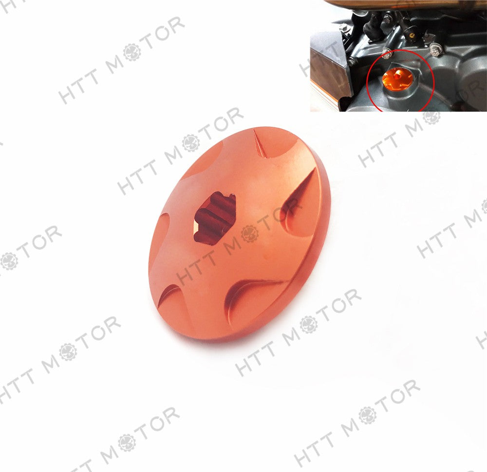 HTTMT- CNC Aluminium Oil Fill Plug Bolt For KTM DUKE 125 200 390 O1
