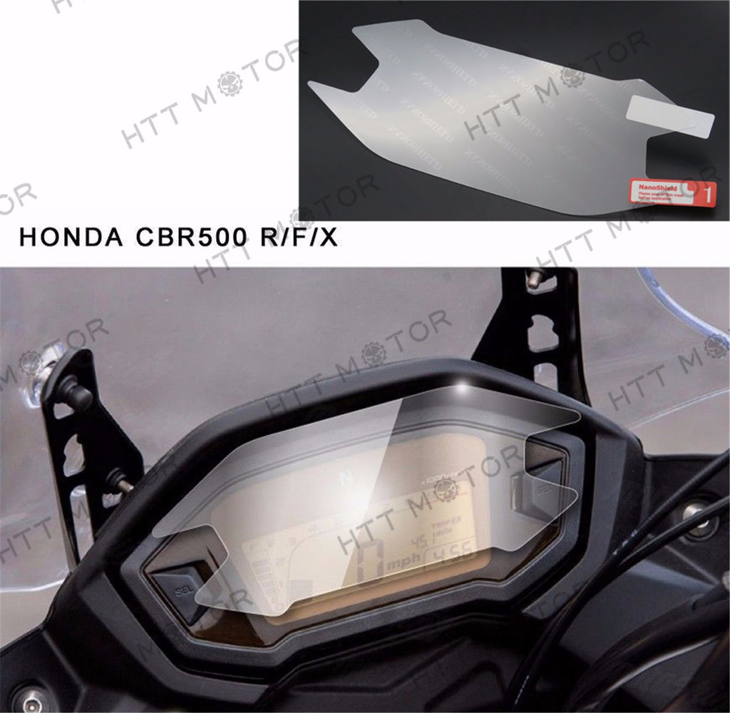 HTTMT- Cluster Scratch Protection Film / Screen Protector for Honda CBR500 R/F/X