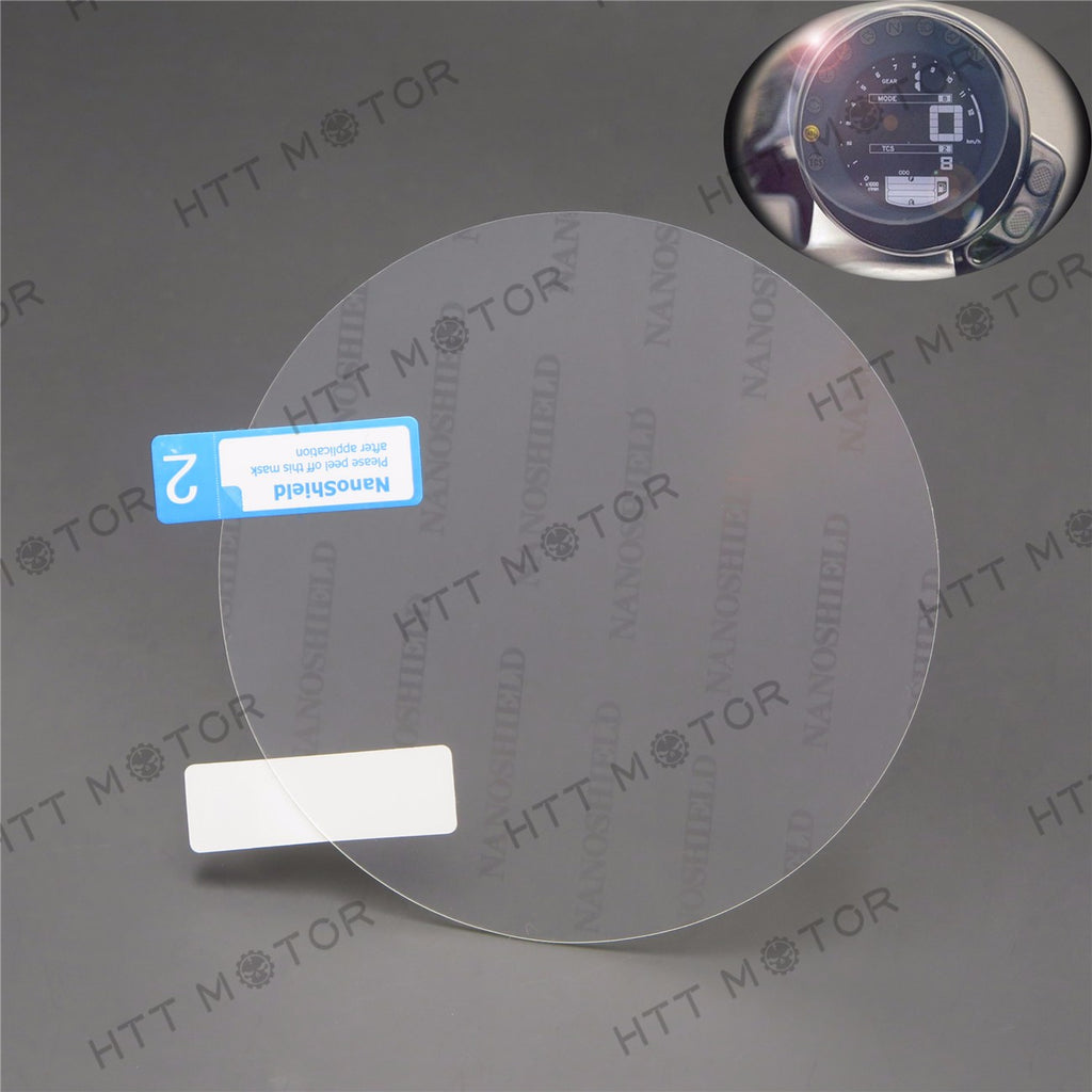HTTMT- Cluster Scratch Protection Film / Cluster Screen Protector for Yamaha XSR900