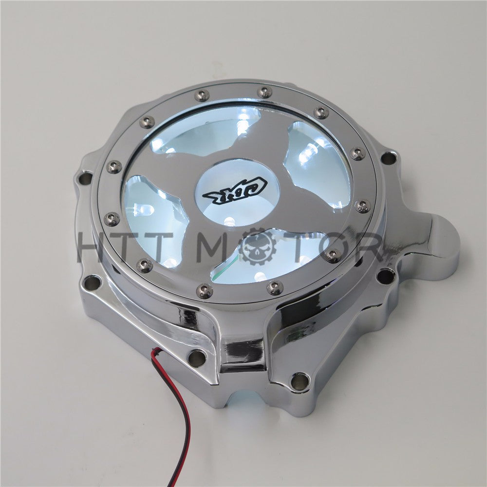 HTTMT- Engine Stator Cover See Through For Honda 04-07 CBR1000RR/ 04-14 CB 1000RR White
