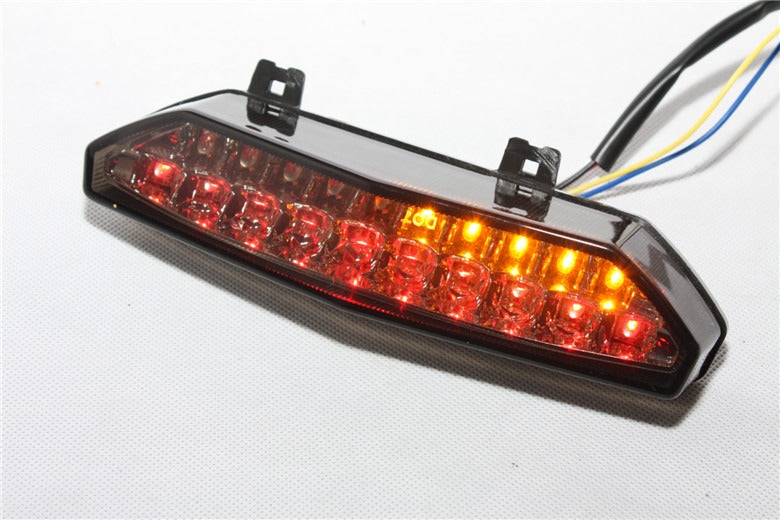 New Led Tail Brake Light Turn Signals For Kawasaki Ninja Zx 6R 2007 2008 Smoke