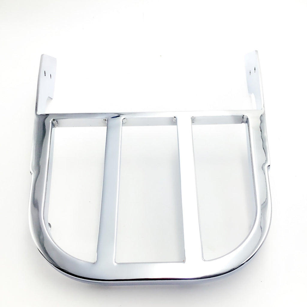 HTT Motorcycle Chrome Sissy Bar Luggage Rack For 2003-2006 Honda VTX 1300N/R/S and 2002-2008 Honda VTX 1800N/R/S