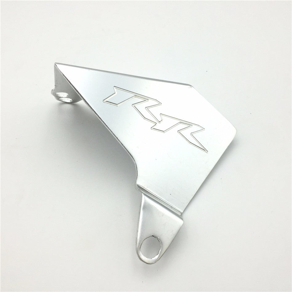 HTT Motorcycle Silver SHORT PART(not whole set) Chain Guards Cover For 2002-2004 Honda CBR 954RR 2000-2001 Honda CBR 929RR