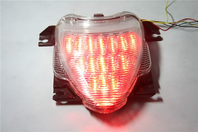 HTT Motorcycle Clear Led Tail Light Brake Light with Integrated Turn Signals Indicators For Suzuki Boulevard M109R/ VZR1800 / M109R LE / VZR1800Z / M109R2 / VZR1800N