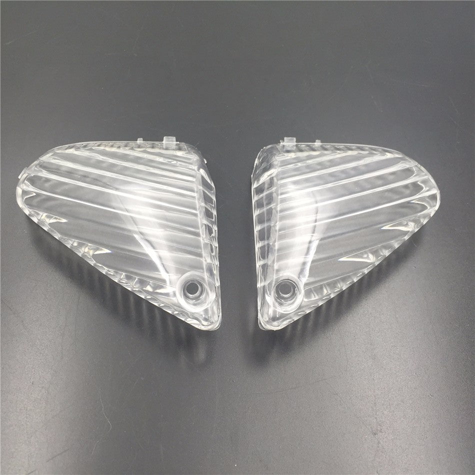 HTT Motorcycle Clear Signal Tail Light Cover Lenses Fit For 2005 2006 Suzuki Gsxr Gsx-R 1000 Gsxr1000